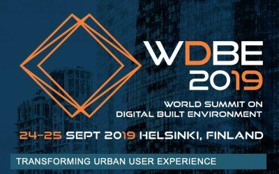 World Summit on the Digital Built Environment WDBE 2019
